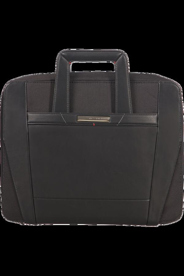 Samsonite Stationery Pro-Dlx 5 Zip Folder A4 Ret H+Det B  Black
