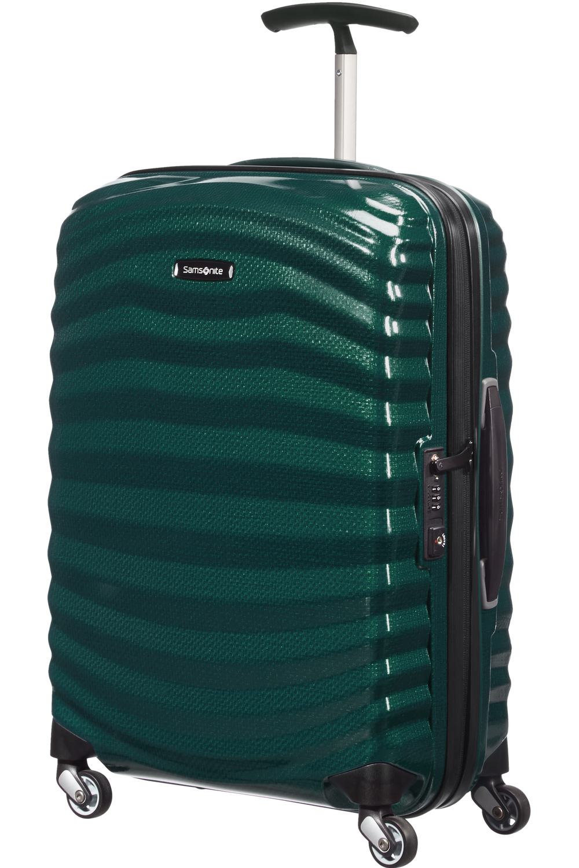 Lite-Shock Nelipyöräinen matkalaukku 55cm (20cm)