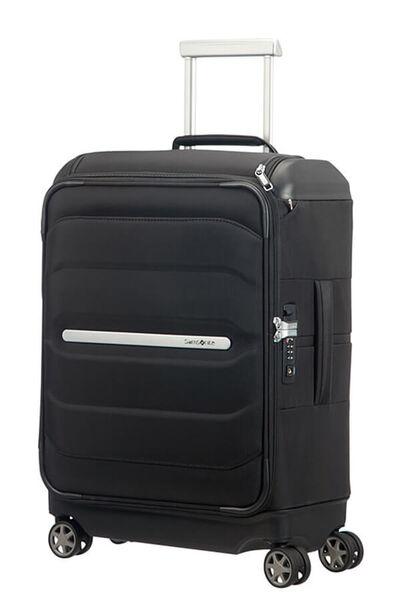 Flux Soft Nelipyöräinen laukku päälitaskulla 55cm