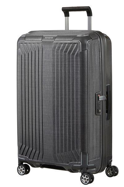 Lite-Box Nelipyöräinen laukku (Spinner) 69cm Eclipse Grey