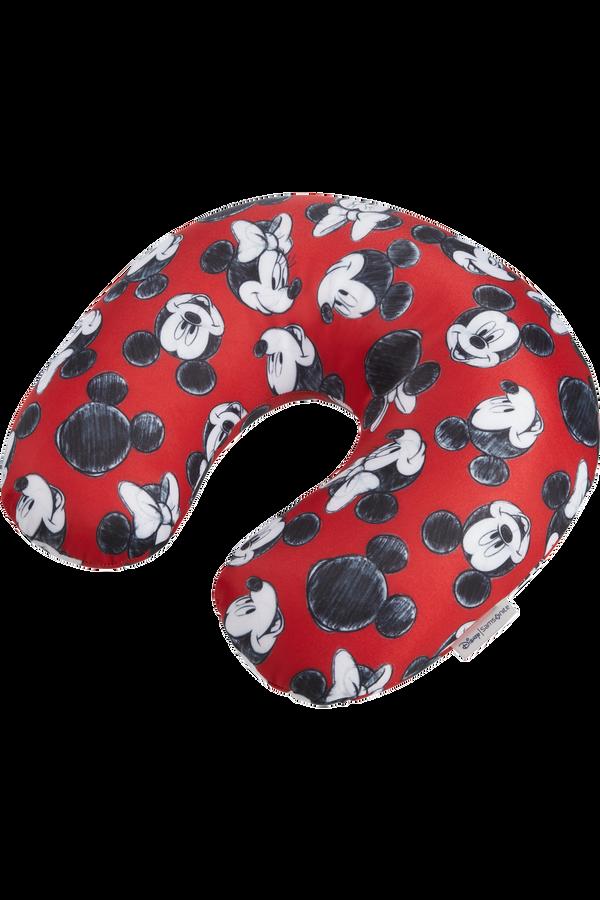 Samsonite Global Ta Disney Microbead T.Pillow Disney  Mickey/Minnie Red
