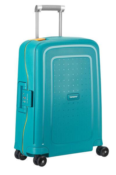 S'Cure Nelipyöräinen laukku (Spinner) 55cm Caribbean Blue/Pineapp.Yellow