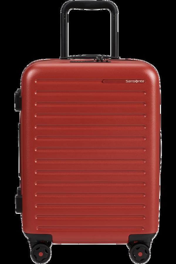 Samsonite Stackd Spinner Expandable 55cm  Red