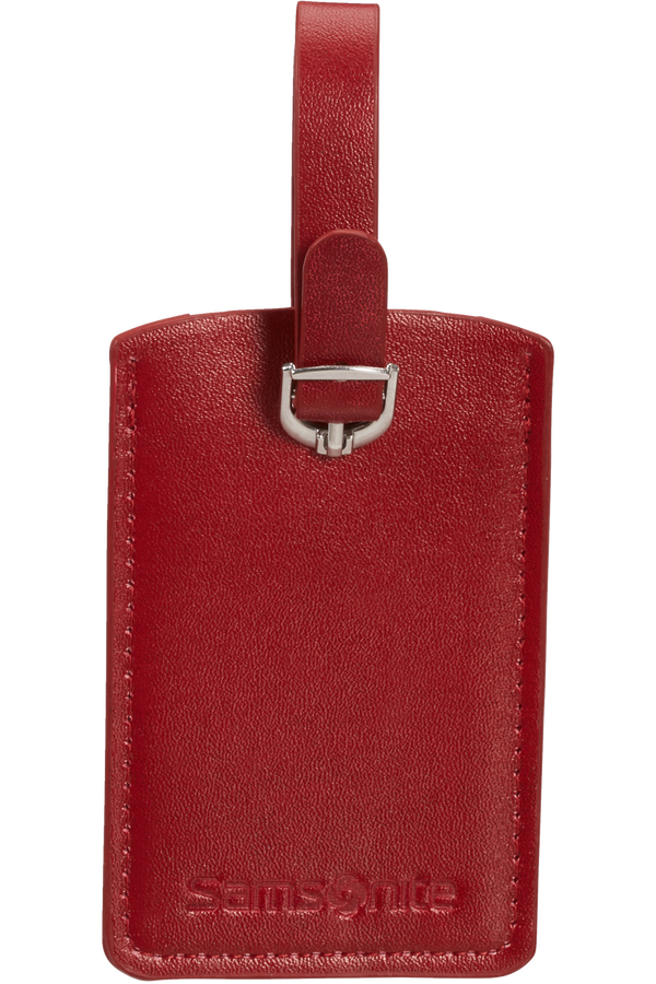 Samsonite Global Ta Rectangle Luggage Tag x2 Red