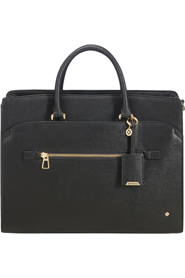 Samsonite Lady Becky Bailhandle 3 Comp  14.1inch Black
