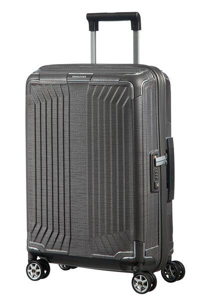 Lite-Box Nelipyöräinen laukku (Spinner) 55cm Eclipse Grey