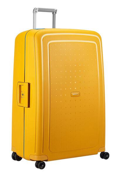 S'Cure Nelipyöräinen laukku (Spinner) 81cm Pineapple Yellow/Caribb.Blue
