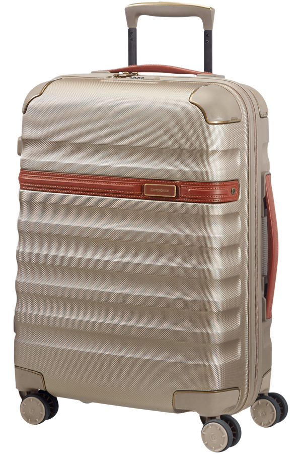 Samsonite Splendor Spinner 55cm Ivory Gold/Cognac