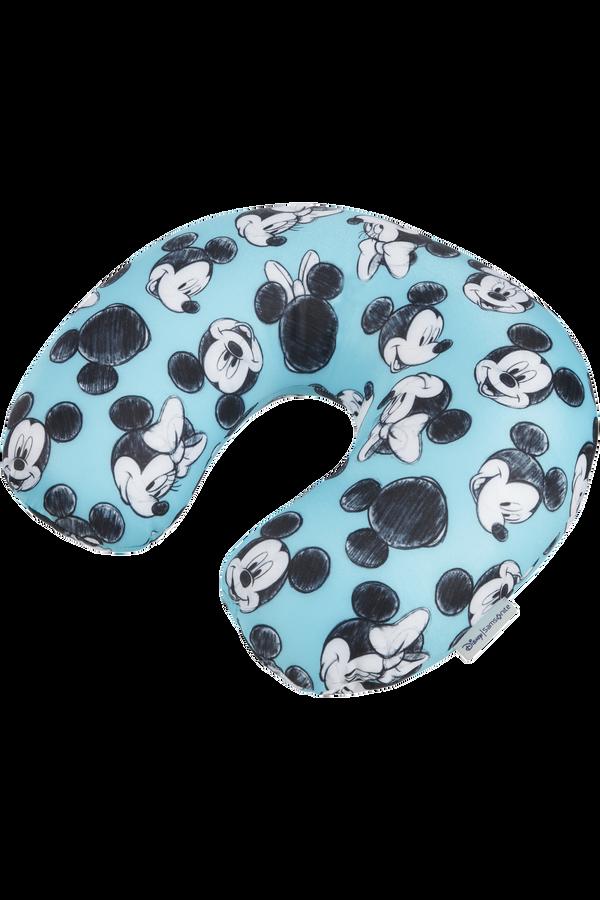 Samsonite Global Ta Disney Microbead T.Pillow Disney  Mickey/Minnie Blue