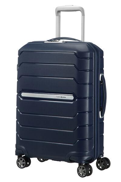 Flux Nelipyöräinen laajennettava matkalaukku 55cm