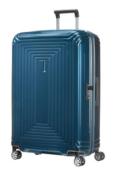 Neopulse Nelipyöräinen laukku (Spinner) 75cm Metallic Blue