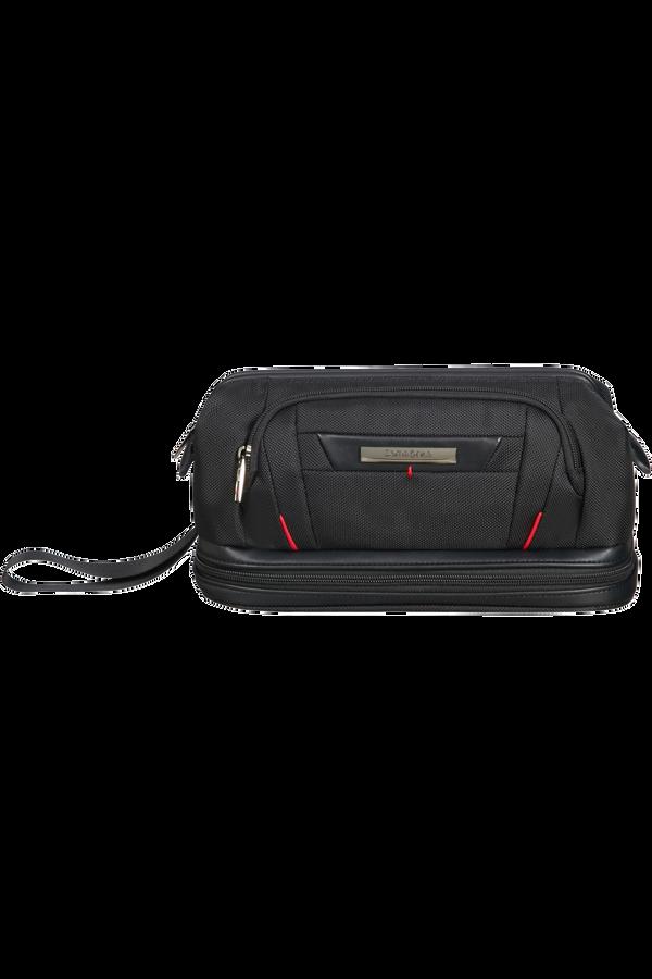 Samsonite Pro-Dlx 5 C. Cases Toiletry Bag Large Opening  Black