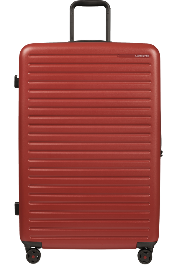 Samsonite Stackd Spinner 81cm  Red