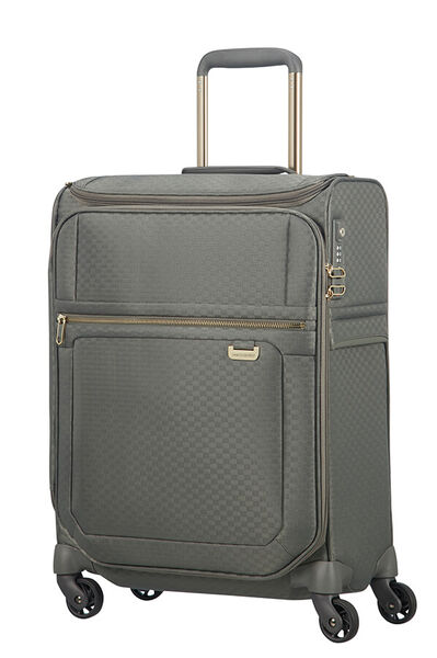 Uplite Nelipyöräinen matkalaukku päälitaskulla 55cm