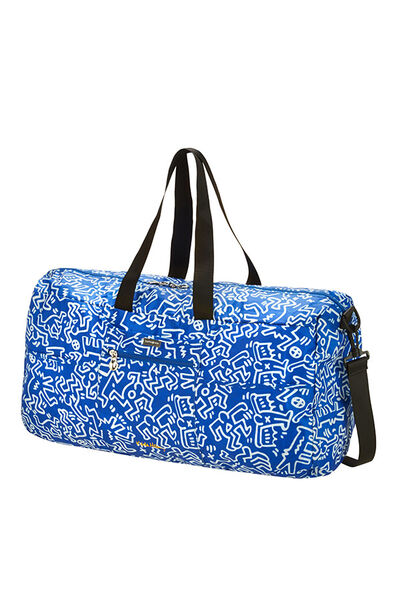 Travel Accessories Matkakassi Graffiti Blue