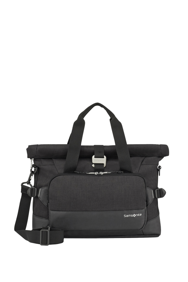 Samsonite Ziproll Laptop Shoulder Bag  Black