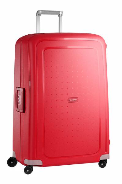 S'Cure Nelipyöräinen laukku (Spinner) 81cm Crimson Red