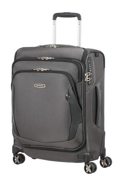 X'blade 4.0 Nelipyöräinen matkalaukku päälitaskulla 55cm