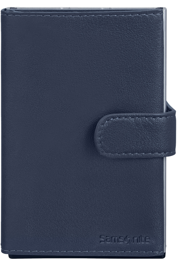 Samsonite Alu Fit 202 - Slide-up Wallet  Blue