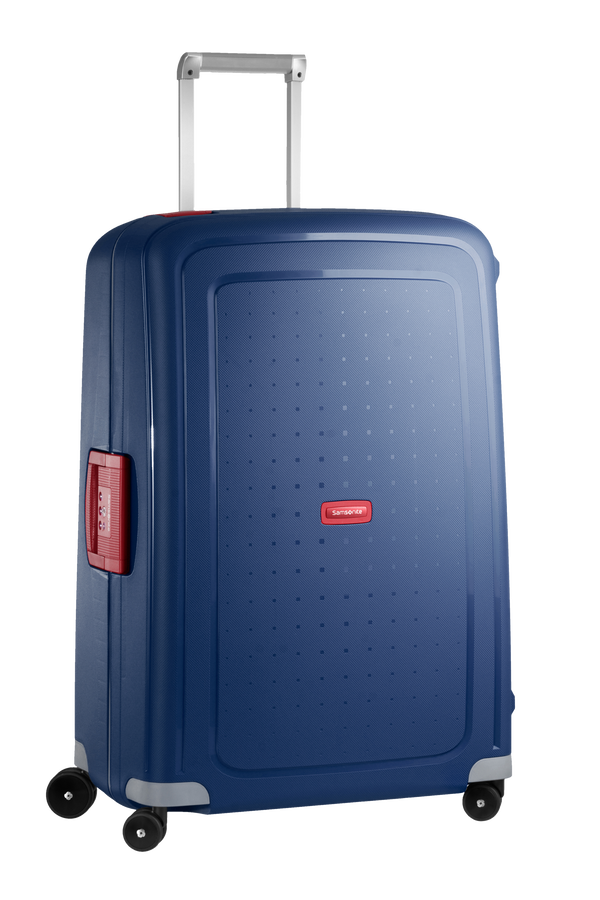 Samsonite S'Cure Spinner 75cm Dark Blue/Crimson Red