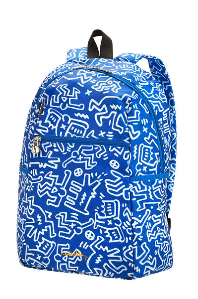 Travel Accessories Selkäreppu Graffiti Blue