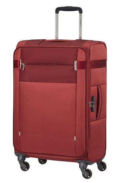 Citybeat Nelipyöräinen laajennettava matkalaukku 66cm