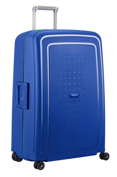 S'Cure Nelipyöräinen laukku (Spinner) 75cm Rio Blue/Aloe Green