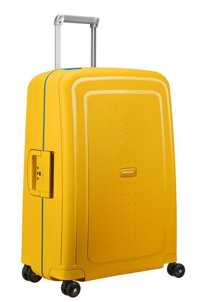 S'Cure Nelipyöräinen laukku (Spinner) 69cm Pineapple Yellow/Caribb.Blue