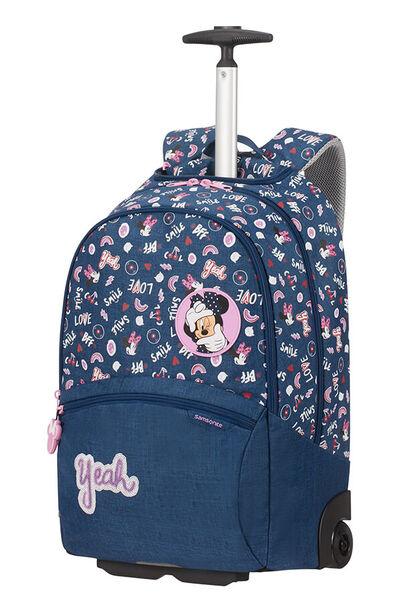 Color Funtime Disney Pyörällinen koululaukku
