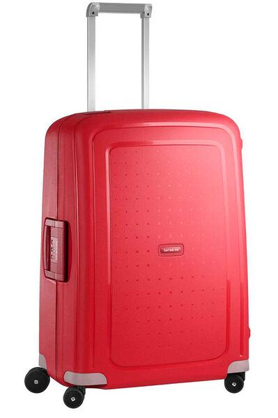 S'Cure Nelipyöräinen laukku (Spinner) 69cm Crimson Red