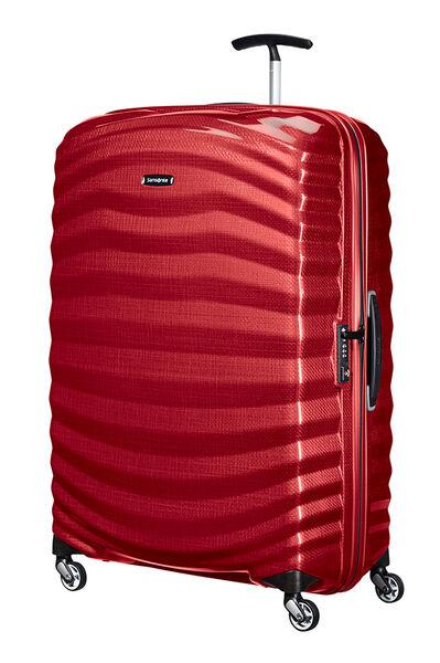 Lite-Shock Nelipyöräinen laukku (Spinner) 81cm Chili red
