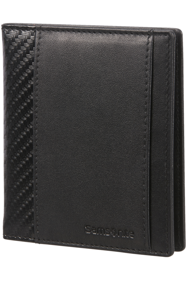 Samsonite S-Derry 2 Slg 728 - 4+2CC H+Money Clip  Black