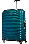 Lite-Shock Nelipyöräinen laukku (Spinner) 75cm Petrol Blue