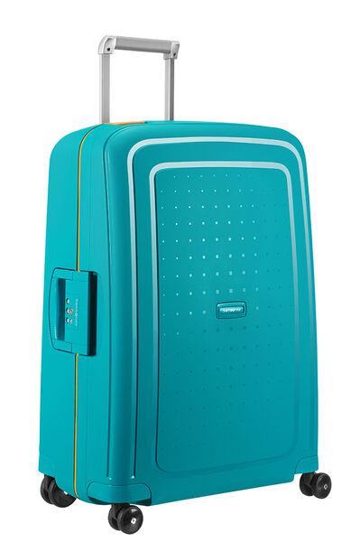S'Cure Nelipyöräinen laukku (Spinner) 69cm Caribbean Blue/Pineapp.Yellow