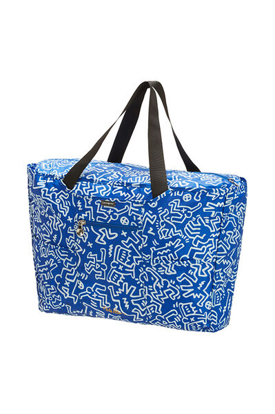 Travel Accessories Ostoslaukku Graffiti Blue