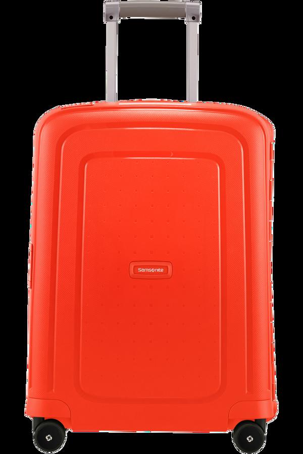 Samsonite S'Cure Spinner 55cm  Fluo Red Capri