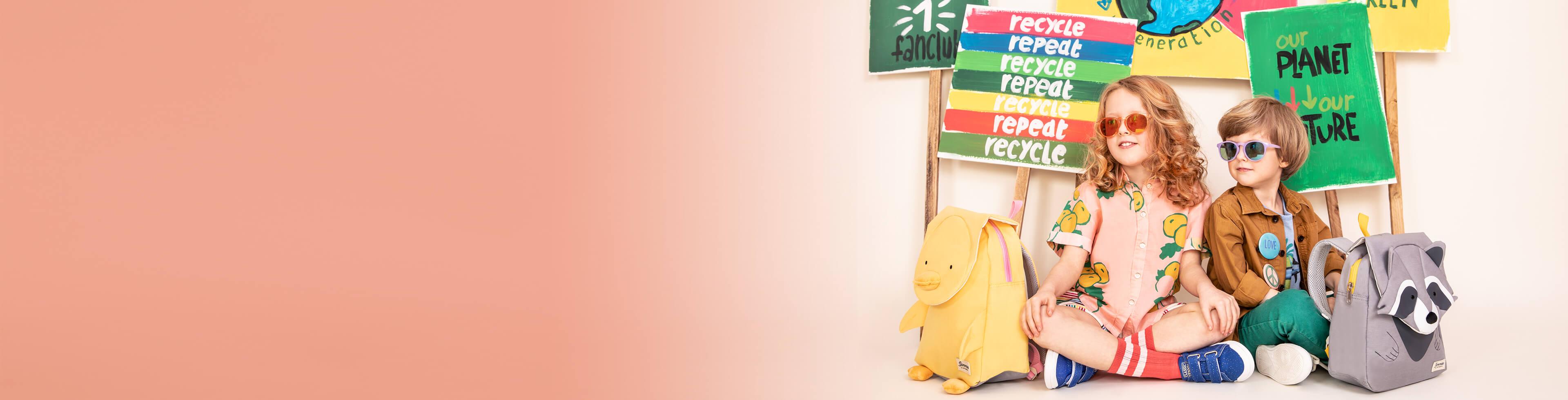 Ekoystävälliset Lastenlaukut ja Matkalaukut