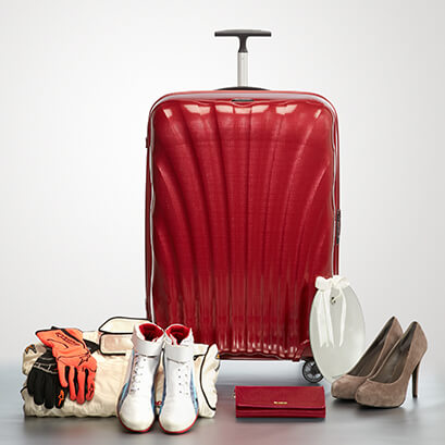 Samsonite Roll out the red carpet